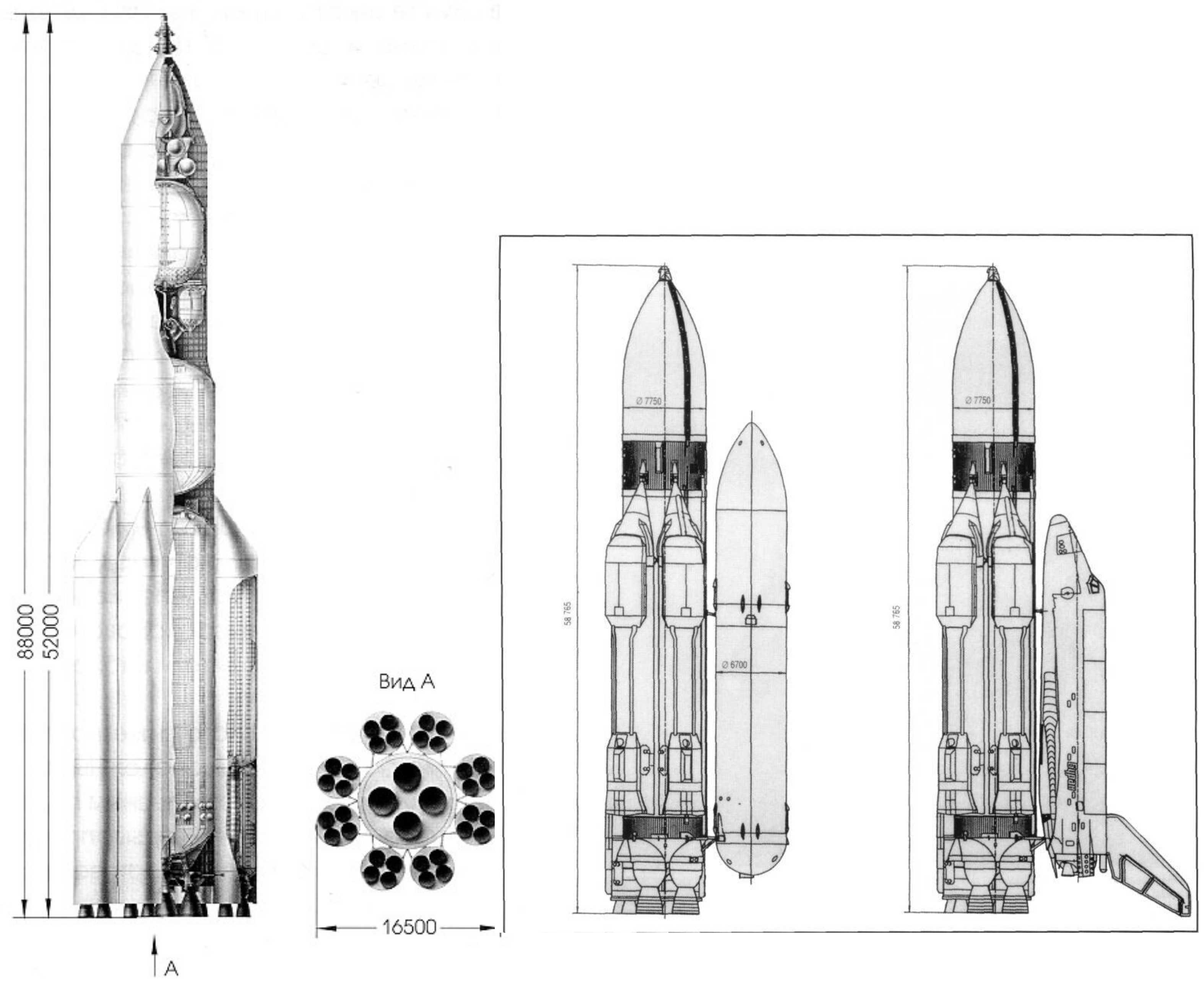 Схема ракеты носителя ариан 5