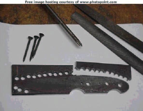 Как сделать нож из рессоры своими руками видео