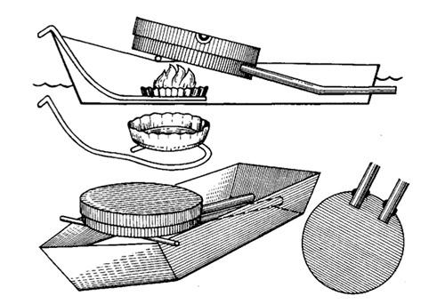 Модель парового двигателя своими руками из яйца