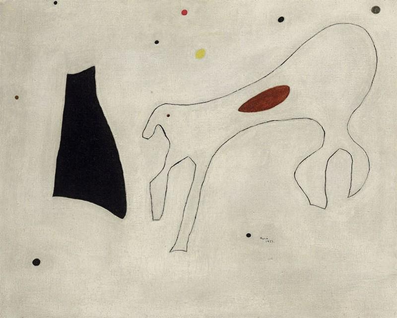 Жоан Миро. «Собака» — 2,2 млн долларов..jpg