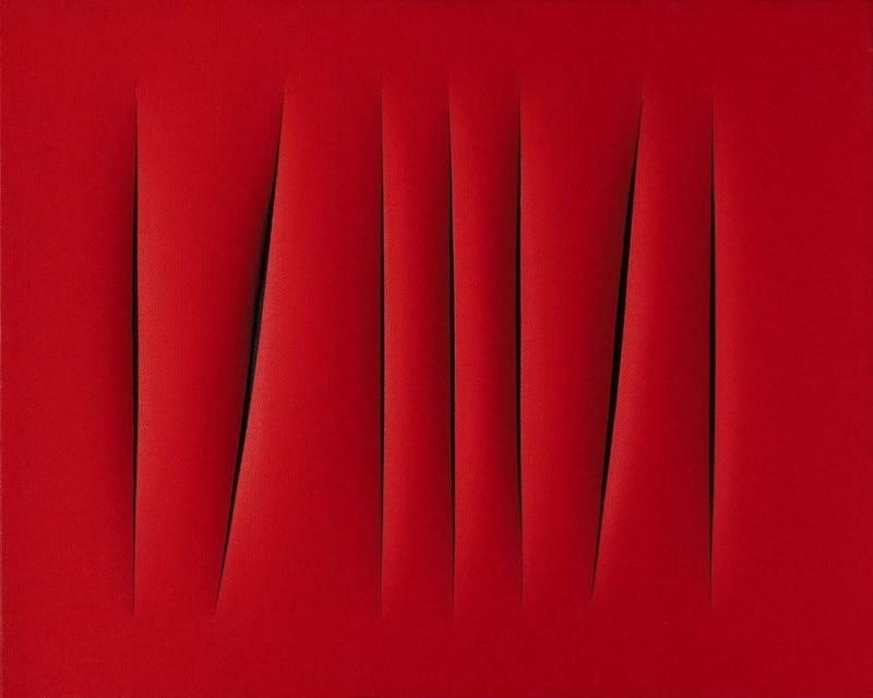 Лучо Фонтана. «Пространственная концепция. Ожидание» — 1,5 млн долларов..jpg
