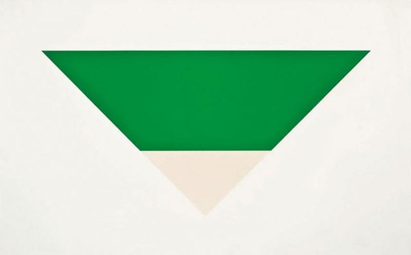 Эльсуорт Келли. «Зеленое белое» — 1,6 млн долларов..jpg